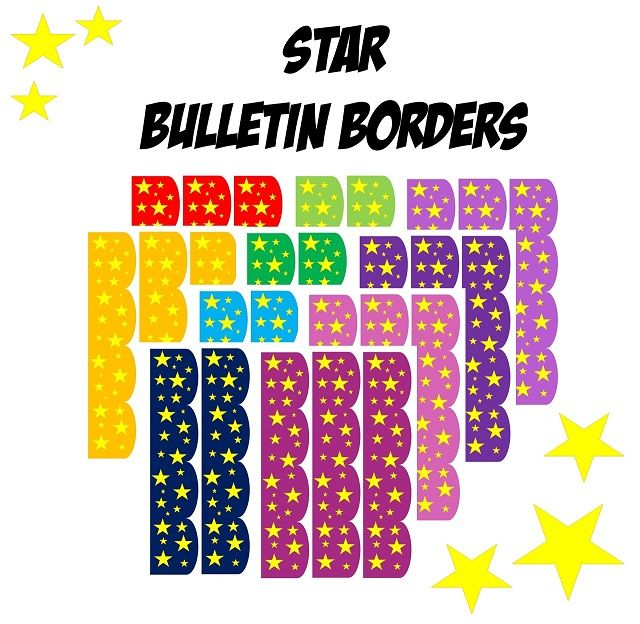 This border will look great in any classroom. Plus it's free!