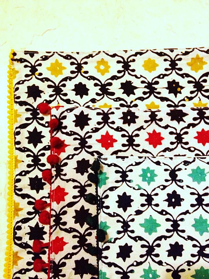 Placemats set of 2, by Tan Living.