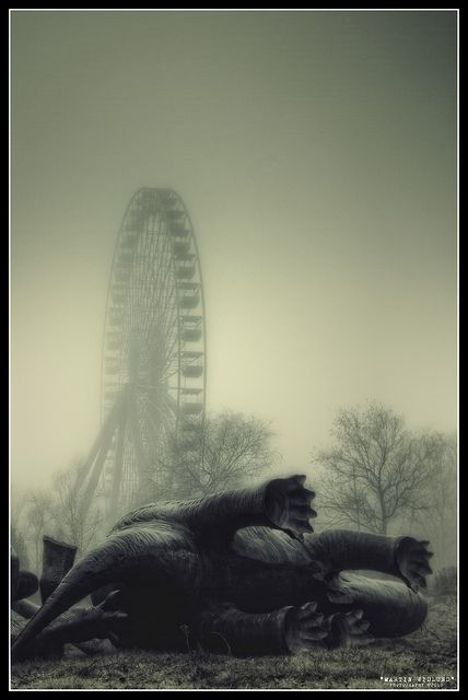 Spreepark, an abandoned theme park in Berlin, Germany. Photo by Martin Widlund.