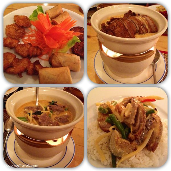 Delicious Thai food at Ratana in Berlin (Berlin has some excellent Asian restaurants).