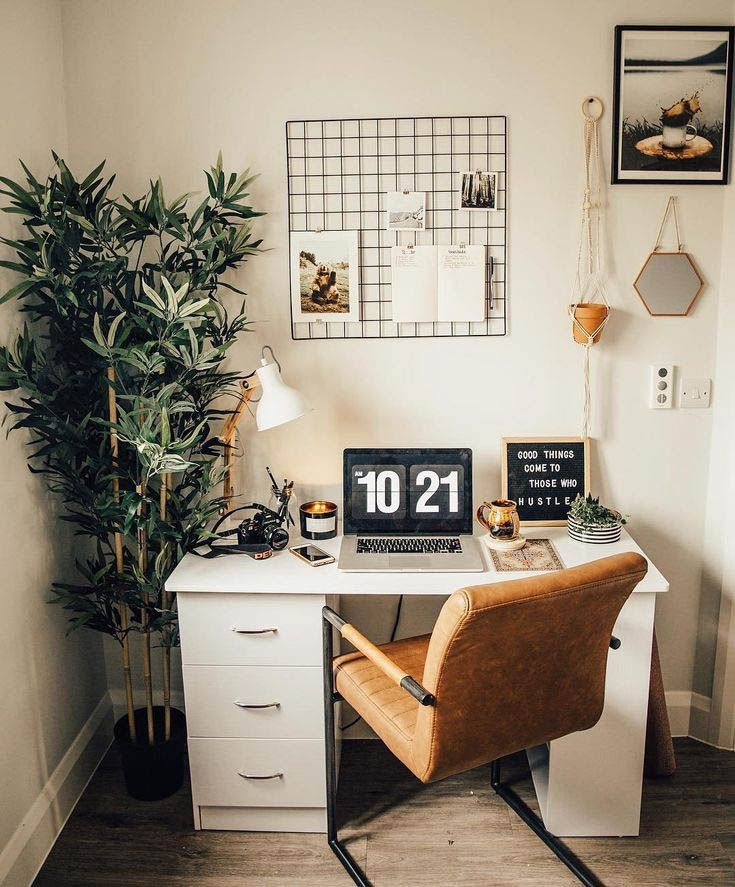 Gorgeous Desk Designs For Any Office Home Office Decor Retro Home Room Inspiration