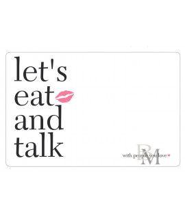 Mata stołowa L'ets eat biała