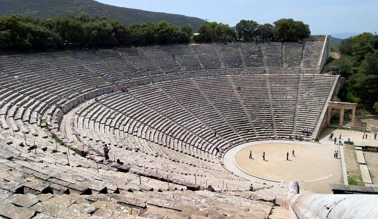 The Epidaurus theatre in 2004 - The Mystery of Modern Acoustic in ...