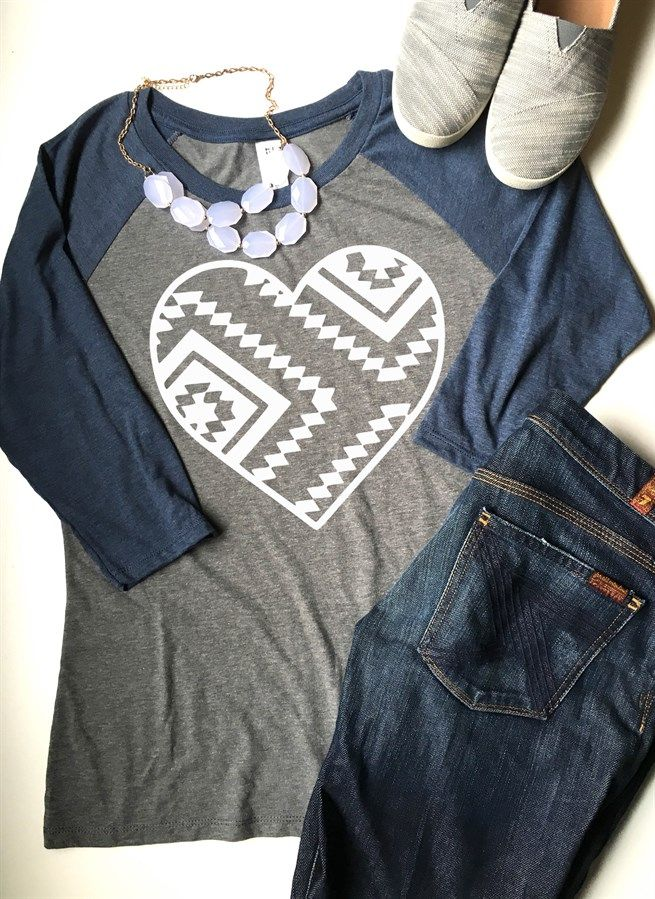 These heart tees are so fun, soft, and perfect for your fall wardrobe! ​With 3…