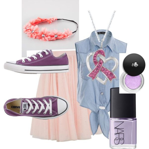 Rupunzel by rowniezhao on Polyvore featuring polyvore, fashion, style, Ted Baker, Converse, Full Tilt, Lancôme and NARS Cosmetics