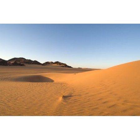Akakus Sahara Desert Fezzan Libya Canvas Art - Sergio Pitamitz DanitaDelimont (24 x 15)