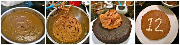 """My son turned 12! Good grief, where did the time go? The """"I Want Chocolate Cake"""" Cake - adapted from Smitten Kitchen Cake 6 tablespoons unsalted butter, at room temperature 3/4 cup firmly packed d..."""