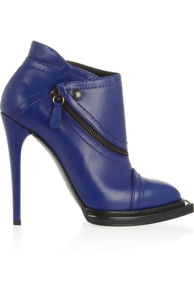 McQ Alexander McQueen | Leather ankle boots