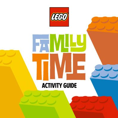 LEGO Family time activity guide.  Many ideas, games, inspirations from LEGO.  Free project downloads that are constantly updated with new building plans too.