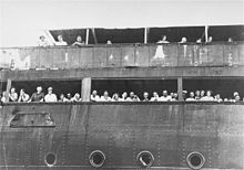 The Holocaust - 1938-39 The 930 Jewish refugees aboard the St. Louis were refused entry to Cuba, the United States and Canada, and the ship was forced to return to Europe