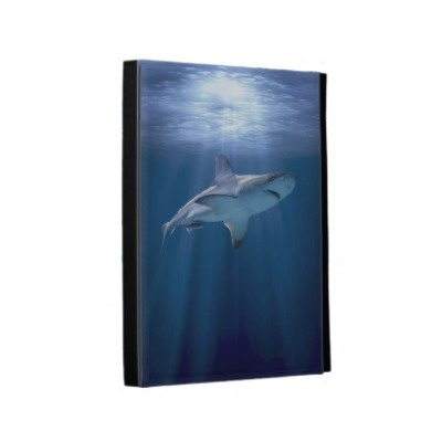 Cruising Shark iPad Folio Case $48.65