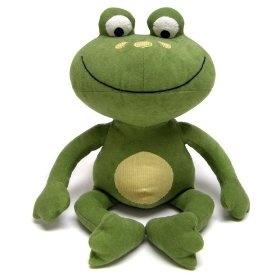 NoJo Jungle Babies Freddie The Frog - Stuffed Animal, (jungle, nursery, stuffed animal, frog, nojo, stuffed animals)