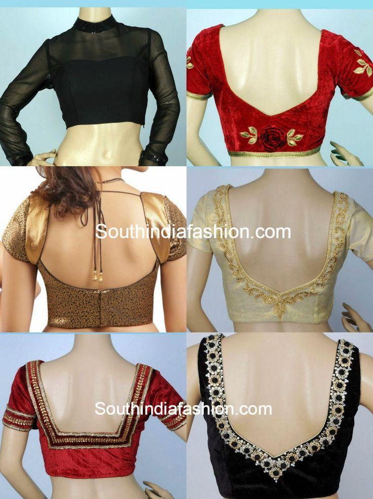 readymade saree blouses