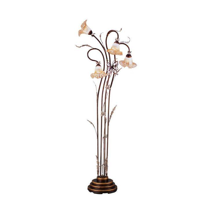 Mejores 24 imgenes de floor lamps en pinterest pisos lmparas de ok lighting 70 in bronze floor lamp aloadofball Gallery