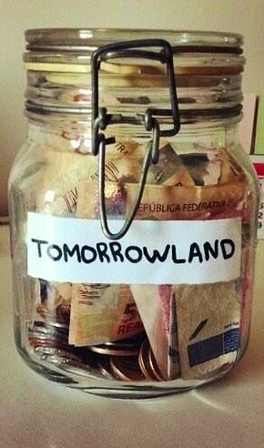 Tomorrowland - Gonna start doing this from tomorrow itself! :D