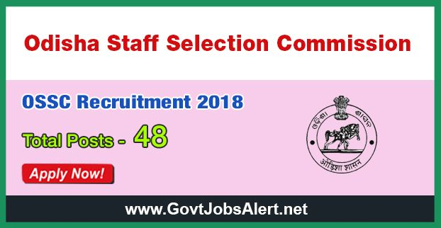 OSSC Recruitment 2018 - Hiring 48 Post Staff Nurse, Pharmacist, ANM, X-Ray Technician and ECG Technician Posts, Salary Rs.9,300/- : Apply Now !!!  The Odisha Staff Selection Commission – OSSC Recruitment 2018 has released an official employment notification inviting interested and eligible candidates to apply for the positions of Staff Nurse, Pharmacist, ANM, X-Ray Technician and ECG Technician. The eligible candidates may apply online through the official website (given