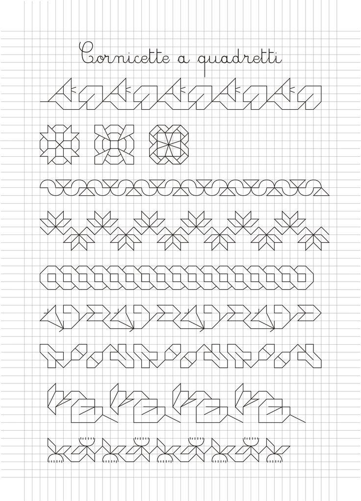 disegni su quaderno a quadretti - Cerca con Google Más