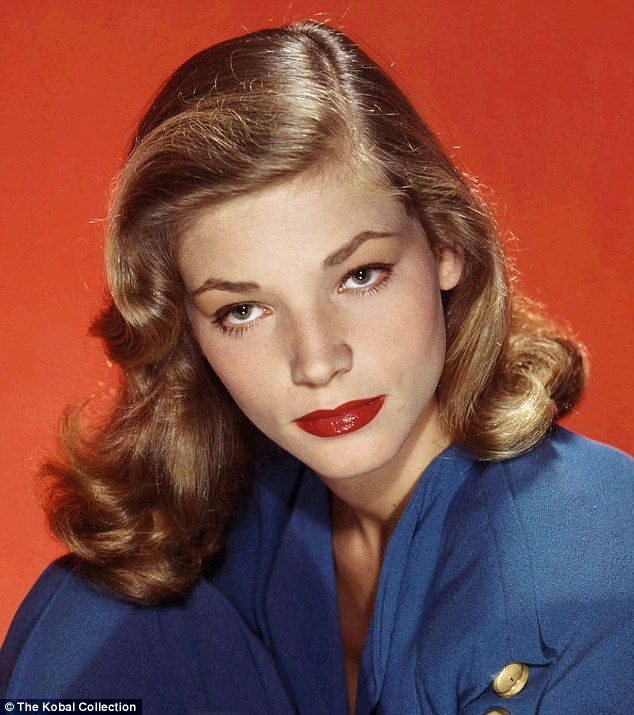 Stunning: The smouldering looks that catapulted Lauren Bacall to Hollywood stardom...