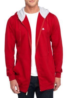 Champion Men's Big & Tall Fleece Hoodie - Cardinal Red - 2Xlt