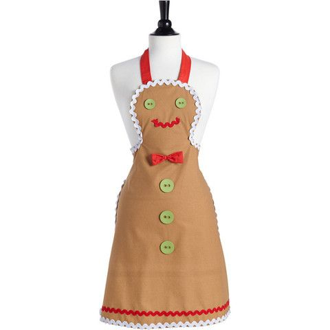 Gingerbread Man Apron, and other cute aprons