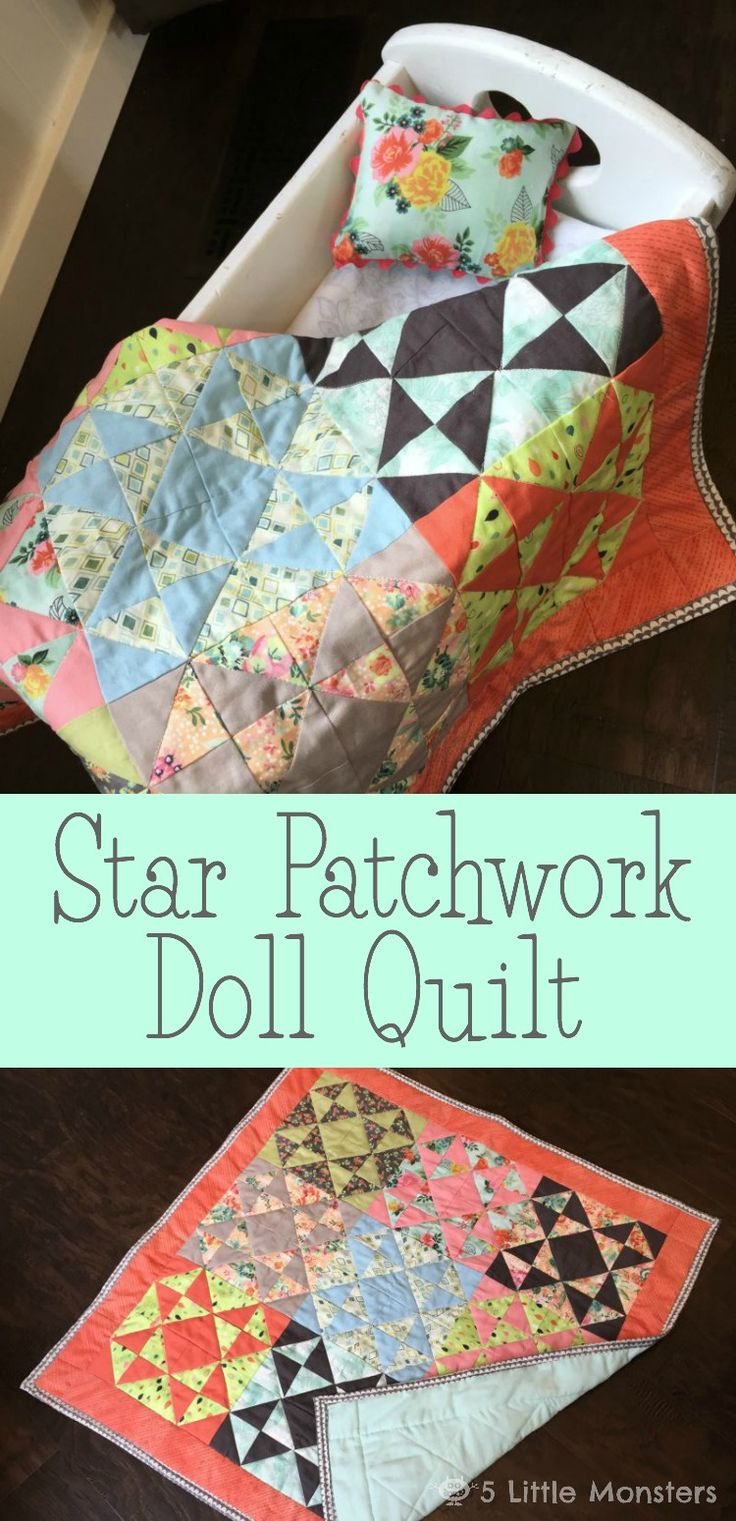 148 best Doll Quilts & Doll Quilt Tutorials, Video's, Patterns ... : doll quilt pattern instructions - Adamdwight.com