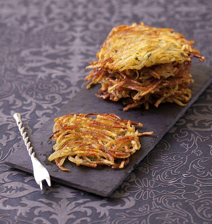 Les paillassons de Lyon sont des galettes de pommes de terre râpées, rôties doucement à la poêle, typique de la cuisine lyonnaise.