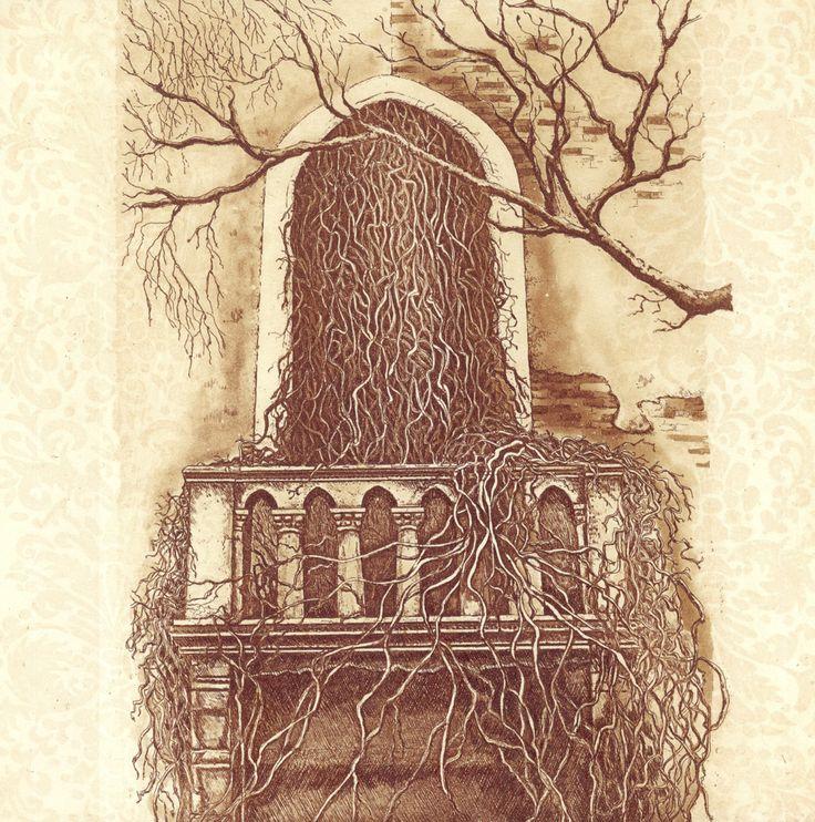 Strd Nova etching Artist Sansi Rigby