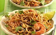 Pad Thai con Camarones