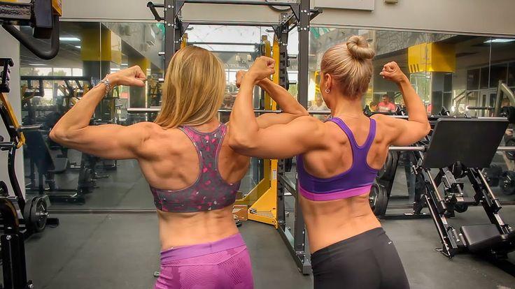 Тренировка спины и рук в суперсете. Superset Back and Arms Workout