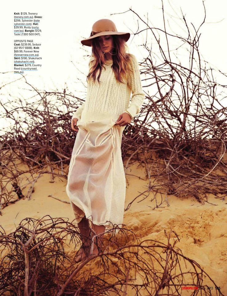 the big chill: kendal schuler by steven chee for cosmopolitan australia june 2013 | visual optimism; fashion editorials, shows, campaigns & more!