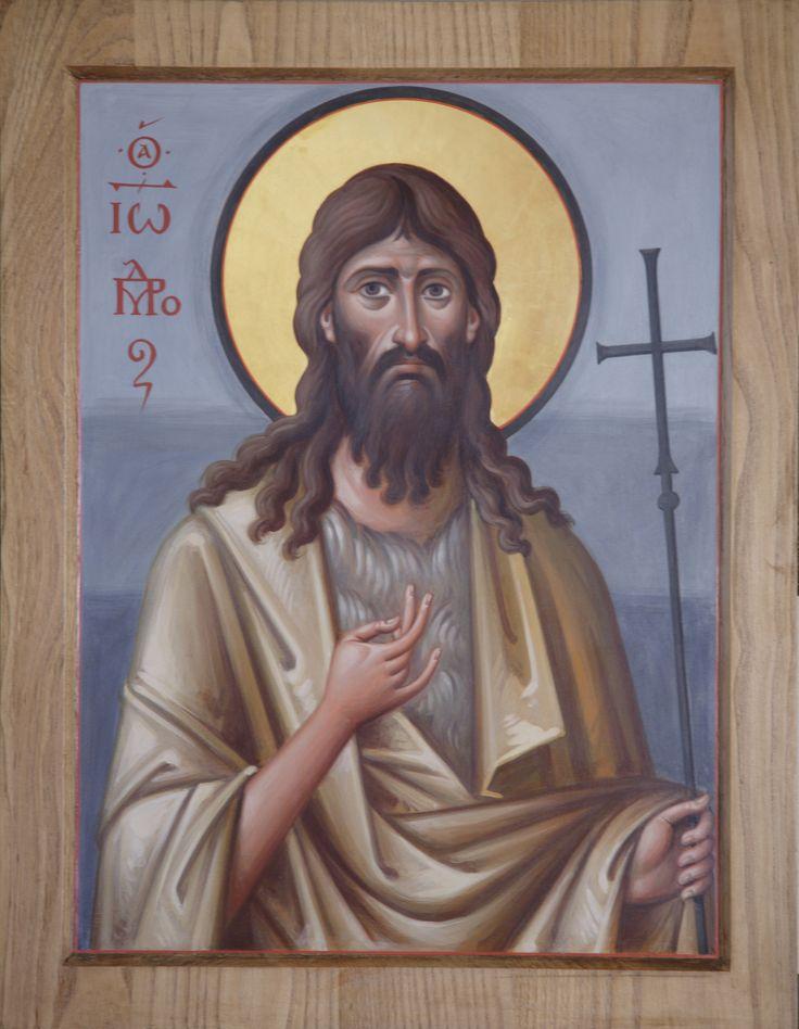 https://flic.kr/p/eMfJEQ | Иоанн Креститель_IMG_5218 | Архимандрит Зинон (Теодор). Икона святого Иоанна Крестителя. Энкаустика