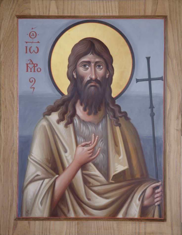 https://flic.kr/p/eMfJEQ   Иоанн Креститель_IMG_5218   Архимандрит Зинон (Теодор). Икона святого Иоанна Крестителя. Энкаустика