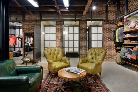 This Patagonia store in the Manhattan's Meatpacking District highlights the neighborhood's rich commercial past by incorporating historically appropriate locally sourced reclaimed and industrial materials to create a layering of time and...