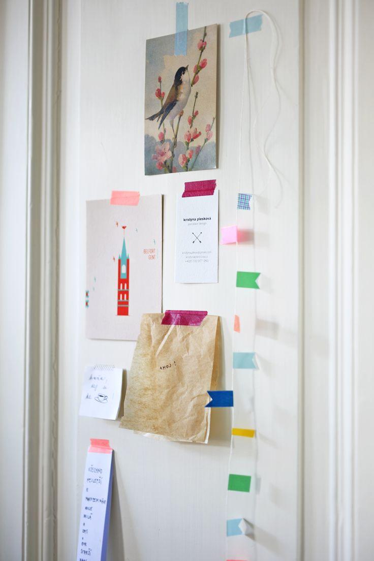 MT pásky, Mt tapes, washi tapes, japonské dekorační lepicí pásky z rýžového papíru, transparentní, popisovatelné, odnímatelné, designové, hravé dekorace, nástěnka, noticeboard, papelote - nové české papírnictví
