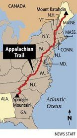 Tuscaloosa man hiking Appalachian Trail suffers burn attack in Gettysburg, Pa.