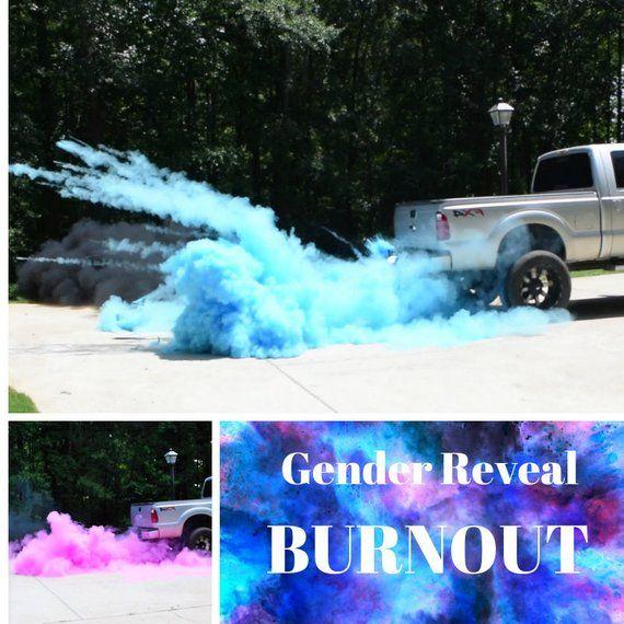 Gender Reveal Burnout Gender Reveal Smoke Gender Reveal Etsy Gender Reveal Smoke Gender Reveal Boy Gender Reveal