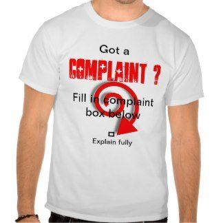 Complaint box tees