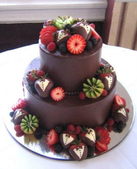 Torte nuziali con la frutta (Foto) | Nanopress
