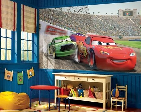 Disney's Cars Wall Murals for Boys Rooms - Extra Large Wall Murals