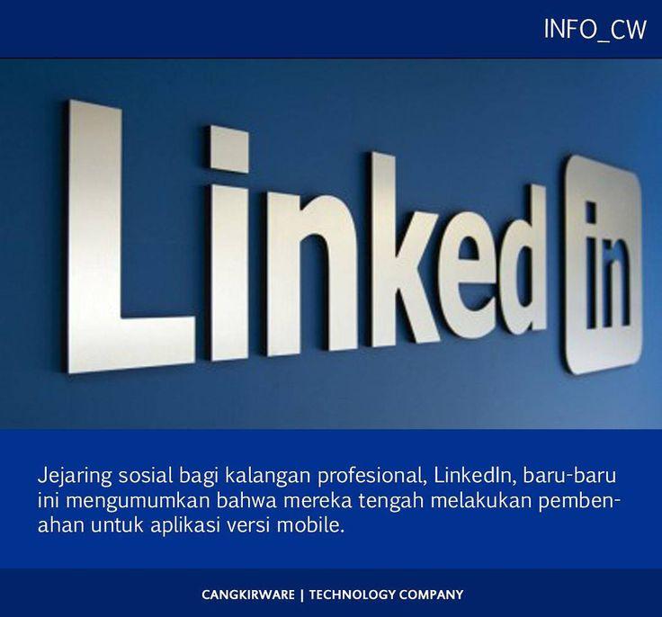 Jejaring sosial bagi kalangan profesional LinkedIn baru-baru ini mengumumkan bahwa mereka tengah melakukan pembenahan untuk aplikasi versi mobile.  Hal ini dilakukan agar pengguna lebih mudah untuk mendapatkan informasi dari LinkedIn melalui perangkat mobile mereka.  Pengguna LinkedIn diketahui hanya menghabiskan 17 persen dari waktu yang mereka miliki untuk menggunakan aplikasi LinkedIn versi mobile.  Pengguna LinkedIn sebagian terhubung dengan LinkedIn melalui PC. Terhitung 63 persen dari…