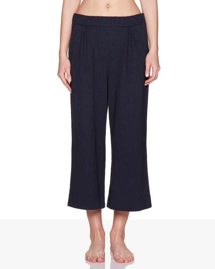 Pantalón 3/4 de felpa, Azul Oscuro - Descubre la nueva colección y haz tus compras en la web benetton.com. Envíos gratuitos con más de 50 €.