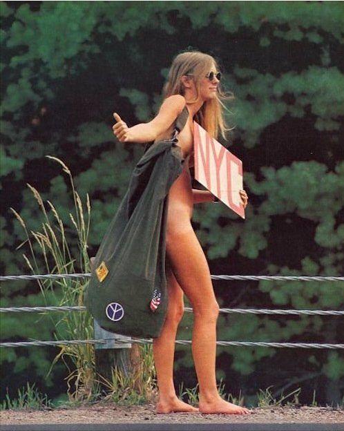 Naked Nyc Hippie Hitchhiker  Hippies  Pinterest  Gossip -2606
