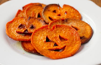 Nalls Crop Share Recipes: Jack-O-Lantern Sweet Potato Fries @Stacy Allen-Travis this one sounds like this year's new side dish!