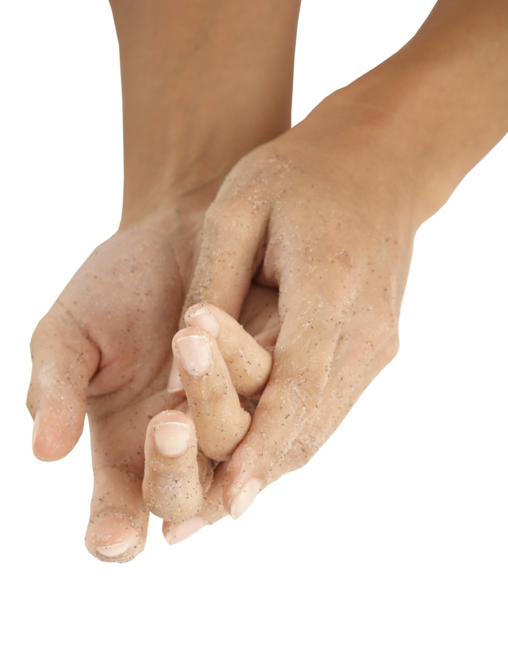 Keep hands looking younger for longer by exfoliating them regularly
