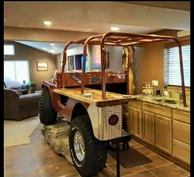 Man Cave Kitchen Bar : Jeep man cave bar home pinterest caves jeeps and
