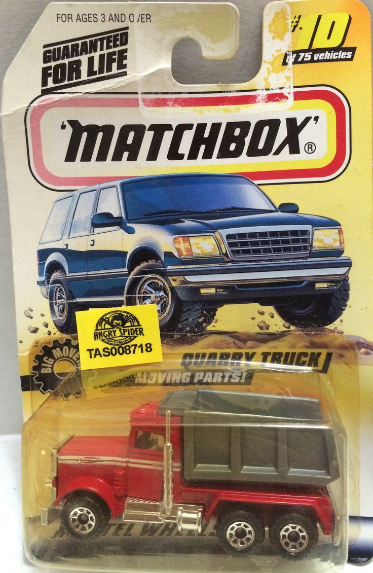 tas008707 matchbox racing car quarry truck
