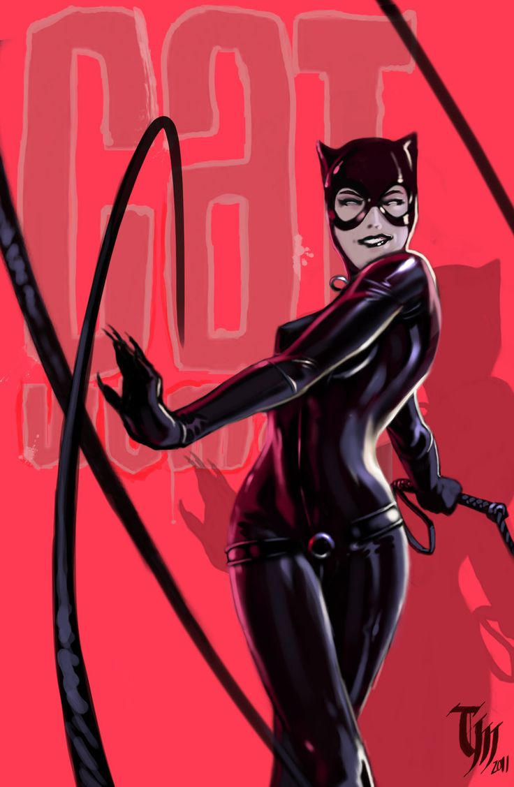 -Cat Woman by ~Mattasama on deviantART-  I have actually not read any catwoman comics, but this is still an amazing drawing of her.