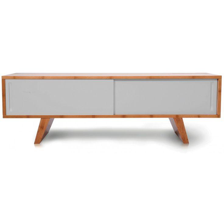 Wasabi meubles tv design en bambou sengtai id e d co for Meuble tv jysk