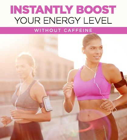 Simple hacks to keep you energized without caffeine