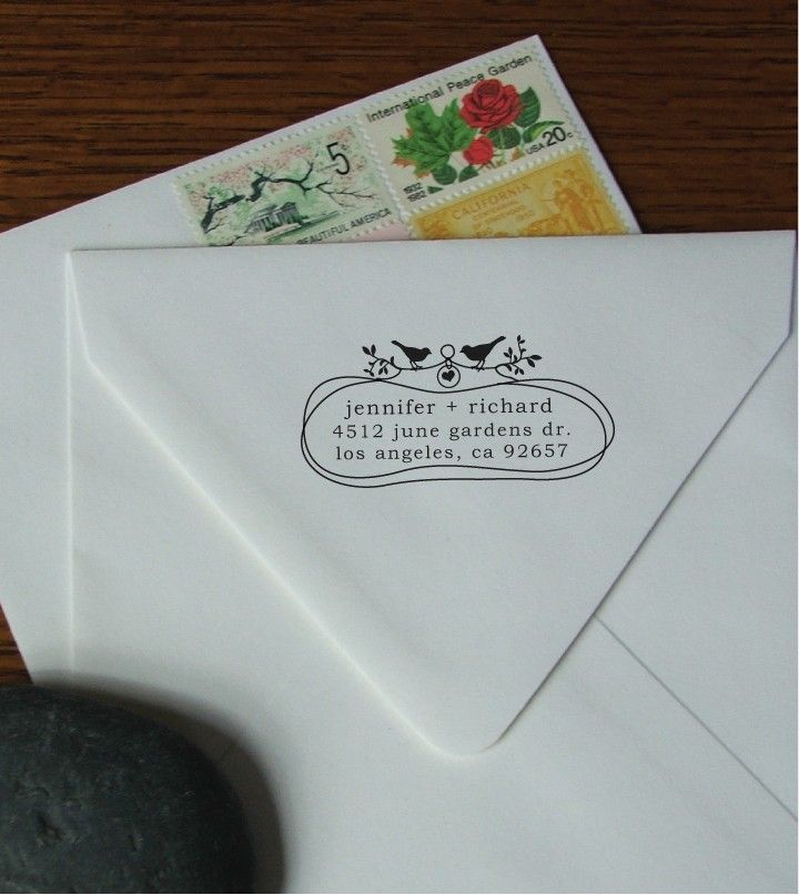 Delightful Tradewind Tiaras: Fabulous Product: A Sweet And Customized Return Address  Stamp